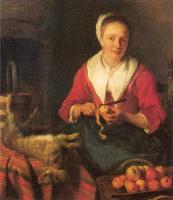 Антонелло да Мессина. Женщина с фруктами