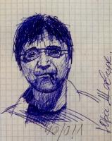 Sergey Viktorovich Rybakov. Yuri Shevchuk. Favorite rocker and poet and beds , people.