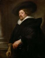 Peter Paul Rubens. Self-portrait