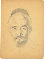 Unknown artist. Portrait Eastern men