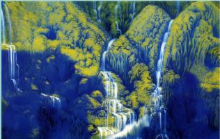 Ван Кунд. Водопад