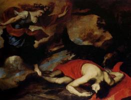 Jose de Ribera. Venus and Adonis
