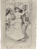 Pierre-Auguste Renoir. The dance in the village