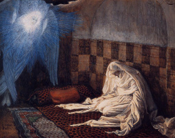 James Tissot. The Annunciation