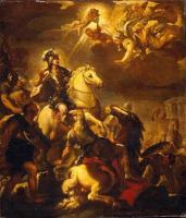 Лука Джордано. Явление креста Константину