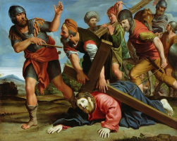 Domenichino. The way of the cross