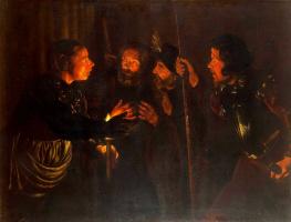 Герард Сегерс. Отречение апостола Петра