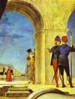 Антонелло да Мессина. У колонны