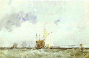 Richard Parkes Bonington. Plot 28