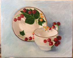 Ульвия Расуловна Х. Чашка с блюдцем