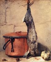 Жан Батист Симеон Шарден. Кролик и медный котелок