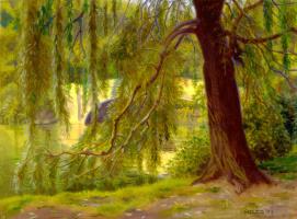 Джеймс Чайлдс. Закат в Центральном парке