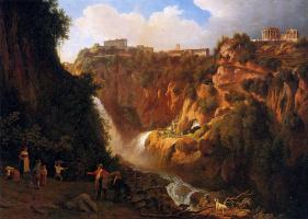 Авраам Тирлинк. Водопад в Тиволи