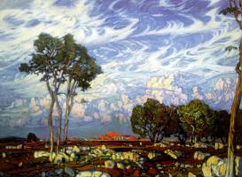 Konstantin Fedorovich Bogaevsky. The last rays