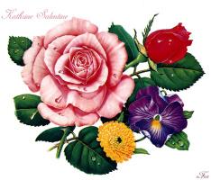 Катрин Салентайн. Цветы