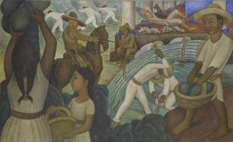 Диего Мария Ривера. Сахарный тростник