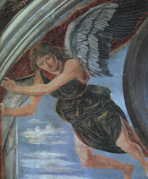 Антонио Поллайоло. Ангел