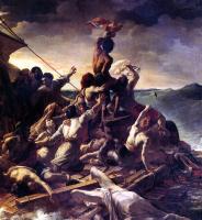 """Théodore Géricault. Raft """"Medusa"""". Fragment"""