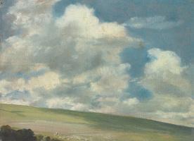 Пейзаж долины, недалеко от Брайтона