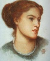 Данте Габриэль Россетти. Портрет рыжеволосой девушки