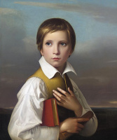 Фридрих Вильгельм фон Шадов. Портрет Феликса Шадова, сводного брата художника