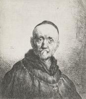 Ян Ливенс. Портрет состоятельного старика с меховым воротником