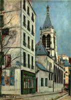 Морис Утрилло. Церковь Сен-Северен