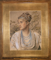 Mary Emma Jones, later Mrs. Frederick Sandys