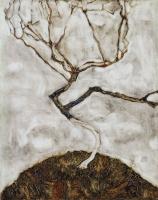 Эгон Шиле. Деревце поздней осенью
