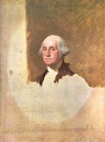 Gilbert Stuart. A Portrait Of Washington