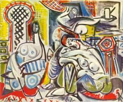 Пабло Пикассо. Алжирские женщины (версия A)