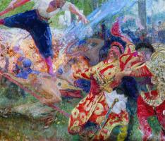 Ilya Efimovich Repin. Hopak