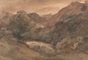 John Constable. Borrowdale: An Evening Of A Beautiful Day