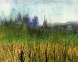 Мануэль Баеза. Пейзаж 1