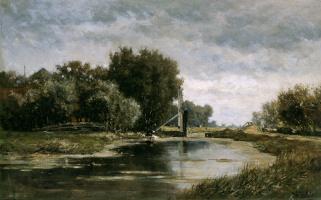 Виллем Рулофс. Канал в Гауда