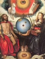 Ян Провост. Христос и Мария