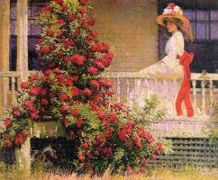 Филипп Лесли Хейл. Вьющаяся роза