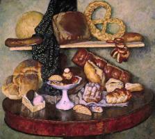 Eatables Moscow. Bread