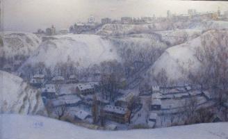 Татьяна Ниловна Яблонская. Зима в старом Киеве