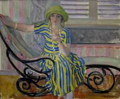 Henri Lebasque. Cigarette