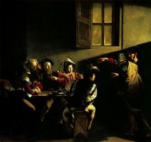 Michelangelo Merisi de Caravaggio. The calling of St. Matthew