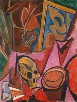 Пабло Пикассо. Композиция с черепом