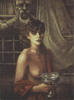 Уолтер Гиротто. Девушка с чашей