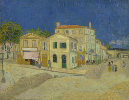Vincent van Gogh. Yellow house