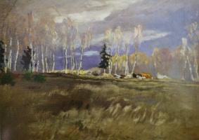 «Ранняя весна. Стадо» 1907-1909