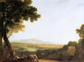 Ричард Уилсон. Вид на Рим
