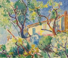 Henri Manguin. The Home of Signac, 'Les Cigales', Saint-Tropez