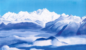 Nicholas Roerich. The Himalayas (the Blue mountains)
