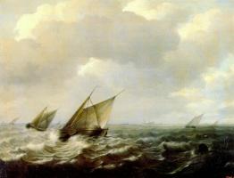 Соргх. Сильный ветер в море