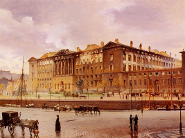 Карл Кристиан Андерсен. Замок после пожара